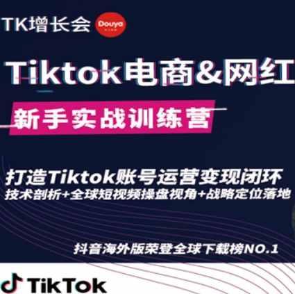 TikTok跨境电商怎么做 网红出海培训班