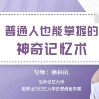徐林凤普通人也能掌握的神奇记忆术 百度云网盘