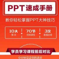 锐普ppt制作教程 速成手册 1000套模板+素材字体