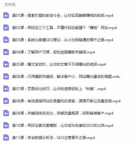 网站seo优化推广 屌丝seo技术培训班教学