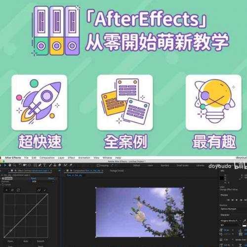 aftereffects培训教程 超能力学院