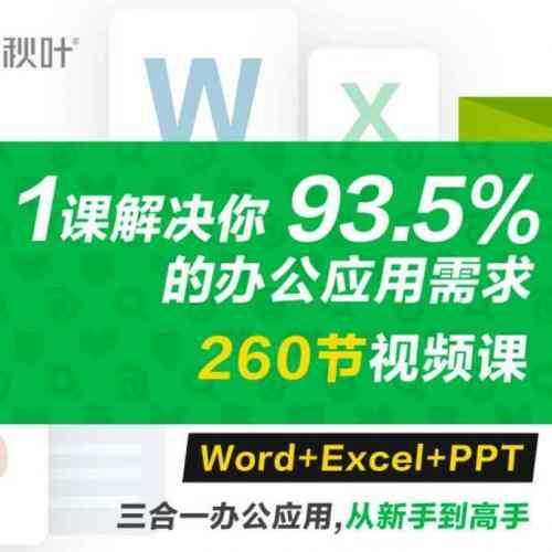 office办公软件学习培训教程 Word+Excel+PPT